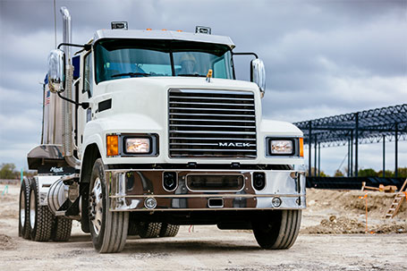 Great New Mack and Volvo Trucks for Sale in Windsor This Winter